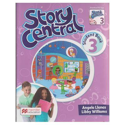 Story Central 3 Student s Book Pack ( Editura: Macmillan, Autor: Angela Llanas, Libby Williams ISBN 9780230452152 )