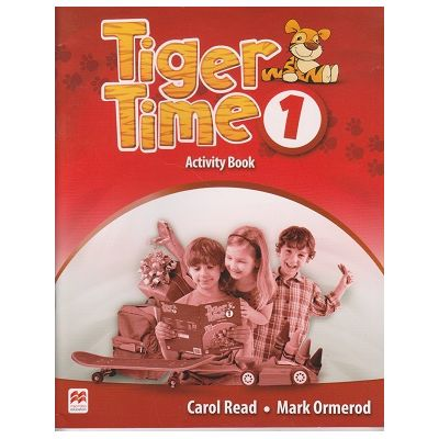 Tiger Time 1 Activity Book ( Editura: Macmillan, Autor: Carol Read, Mark Ormerod ISBN 9780230483576 )