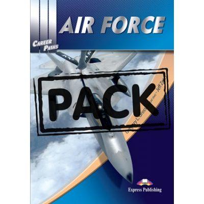Curs limba engleză Career Paths Air force pachetul elevului ( Editura: Express Publishing, Autor: Gregoey L. Gross Col USAF (Ret), Jeff Zeter ISBN978-0-85777-890-1 )