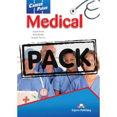 Curs limba engleză Career Paths Medical Pachetul elevului ( Editura: Express Publishing, Autor: Virginia Evans, Jenny Dooley ISBN 9781780986654 )