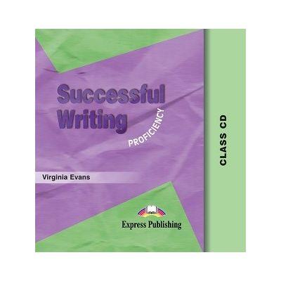 Curs limba engleză Successful Writing Proficiency CD Audio ( Editura: Express Publishing, Autor: Virginia Evans ISBN 978-1-903128-58-9 )