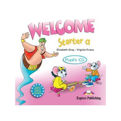 Curs lb. Engleza – Welcome Starter a – Audio CD elev ( Editura: Express Publishing, Autor: Elizabeth Gray, Virginia Evans ISBN 978-1-84558-368-2 )
