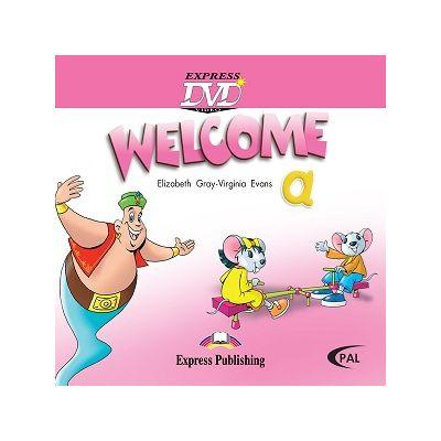 Curs limba engleză Welcome Starter A DVD ( Editura: Express Publishing, Autor: Elizabeth Gray ISBN 9781845587307 )