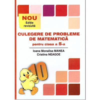 Culegere de probleme de matematica pentru clasa a V-a - Puisor ( editura: Logos Junior, autori: Ioana Monalisa Manea, Cristina Neagoe, ISBN 978-973-7619-76-1 )