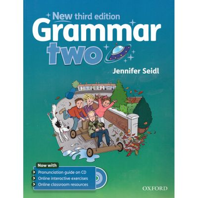 Grammar two ( editura: Oxford University Press, autor: Jennifer Seidl, ISBN 978-0-19-443040-1 )