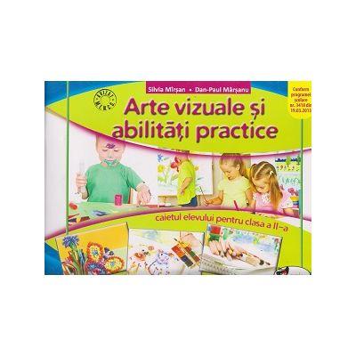 Arte vizuale si abilitati practice caietul elevului pentru clasa a II-a ( Editura: Aramis, Autor: Silvia Mirsan, Dan-Paul Marsanu ISBN 978-606-706-282-3 )