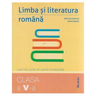 Limba si literatura romana clasa a VI-a caiet de lucru pe unitati de invatare ( Editura: Booklet, Autor: Booklet ISBN 9786065903883 )