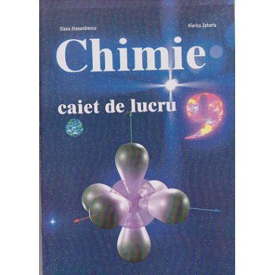 Caiet de lucru Chimie clasa a IX-a ( Editura: LVS Crepuscul, Autor: Elena Alexandrescu, Viorica Zaharia ISBN 973-8265-37-1 )