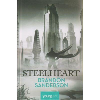 Steelheart ( Prima carte din seria Razbunatorilor ) ( Editura: Art Grup Editorial, Autor: Brandon Sanderson ISBN 9786068811154 )