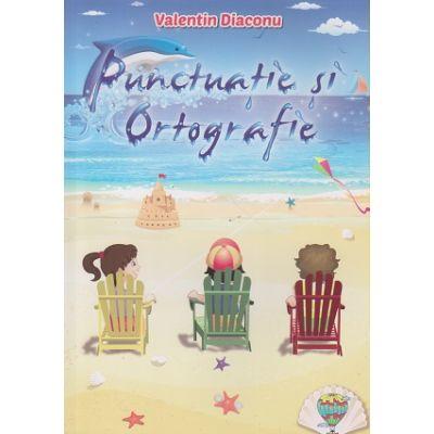 Punctuatie si ortografie ( Editura: Allegria, Autor: Valentin Diaconu ISBN 9786069383483 )