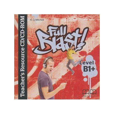 Full Blast B1 + Teacher s Resource CD/CD-ROM ( Editura: MM Publications, Autor: H. Q. Mitchell ISBN 978-960-509-766-0 )