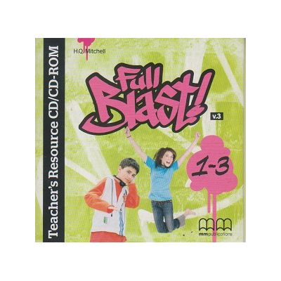 Full Blast 1-3 ( Editura: MM Publications, Autor: H. Q. Mitchell ISBN 978-960-573-394-0 )