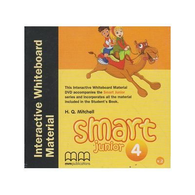 Smart Junior 4 Interactive Whiteboard Material ( Editura: MM Publications, Autor: H. Q. Mitchell ISBN 978-618-05-0230-5 )