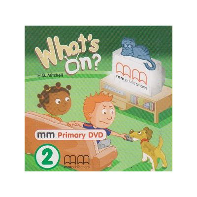 What s on 2 DVD PAL ( Editura: MM Publications, Autor: H. Q. Mitchell ISBN 978-960-443-140-3 )
