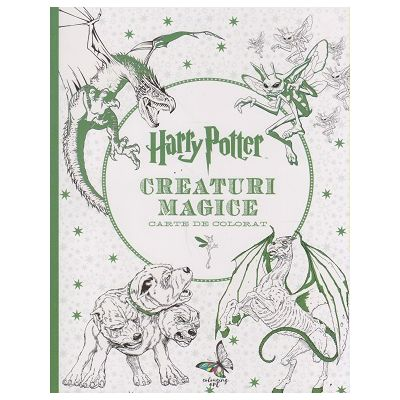 Harry Potter Creaturi Mitologice carte de colorat ( Editura: Art Grup Editorial ISBN 978-606-788-107-7 )
