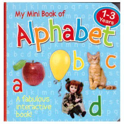 My Mini Book of Alphabet ( Editura Outlet - carte limba engleza, ISBN 5021947995315 )