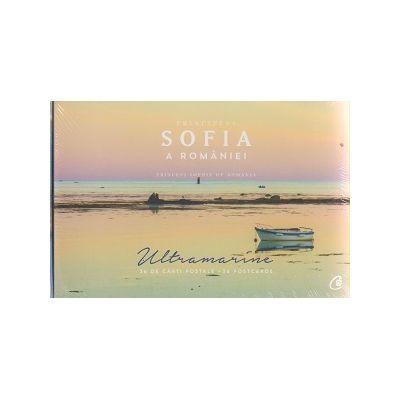Ultramarine / 36 de carti postale ( Editura: Curtea Veche, Autor: Principesa Sofia a Romaniei )