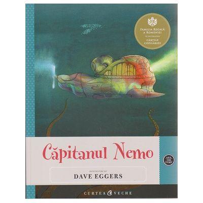 Capitanul Nemo (cu ilustratii ) ( Editura: Curtea Veche, Autor: Dave Eggers ISBN 978-606-588-820-3 )