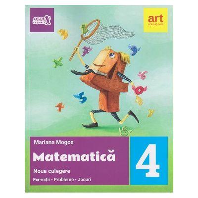 Noua culegere de Matematica pentru clasa a 4 a ( Editura: Art Grup Editorial, Autor: Mariana Mogos ISBN 9786068948324 )