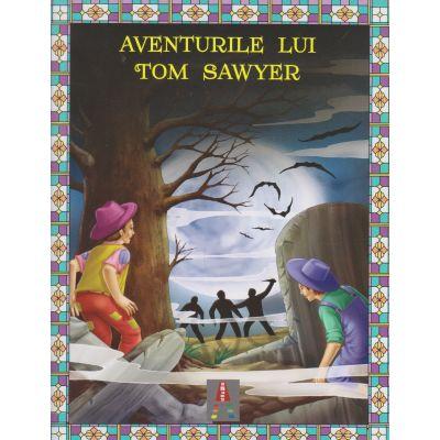 COLECTIA ILUSTRATE CU LITERE MARI Aventurile lui Tom Sawyer ( Editura: Astro ISBN 978-606-8660-30-1 )