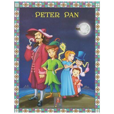 COLECTIA ILUSTRATE CU LITERE MARI Peter Pan ( Editura: Astro ISBN 978-606-8660-28-8 )