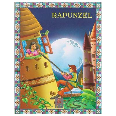 COLECTIA ILUSTRATE CU LITERE MARI Rapunzel ( Editura: Astro ISBN 9786068660318 )