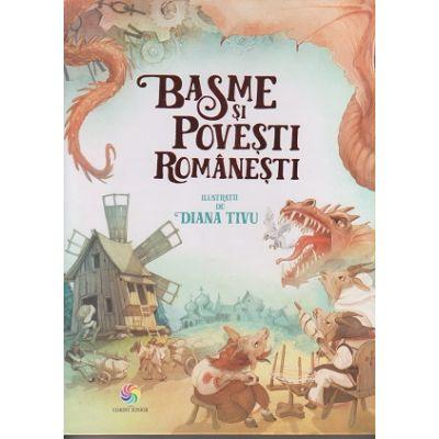 Basme si povesti romanesti ( Editura: Corint Junior, ISBN 9786067932225 )