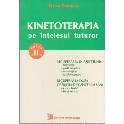 Kinetoterapia pe intelesul tuturor. Editia a II-a ( Editura: Medicala, Autor: Elena Engrich, ISBN 978-973-39-0722-0 )