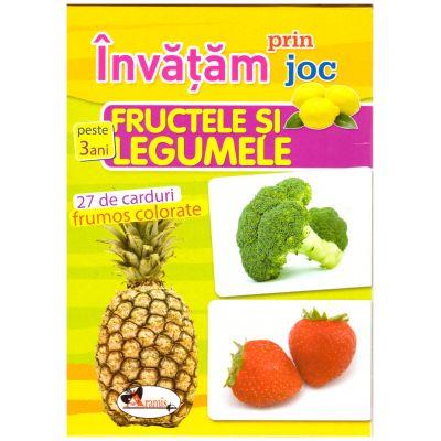 Invatam prin joc: Fructele si legumele ( Editura: Aramis, ISBN 978-606-706-252-6 )