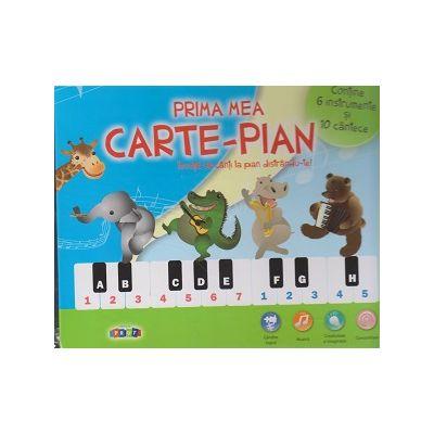 Prima mea carte-pian ( Editura: Prut, ISBN 9789975543217 )