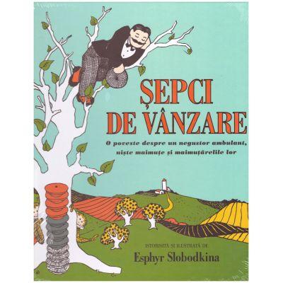 Sepci de vanzare. O poveste despre un negustor ambulant, niste maimute si maimutarelile lor ( editura: Arthur, autor: Esphyr Slobodkina ISBN 9786067881547 )