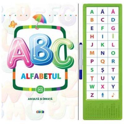 123. Alfabetul. Asculta si invata ( Editura: Prut, ISBN 9789975542760 )