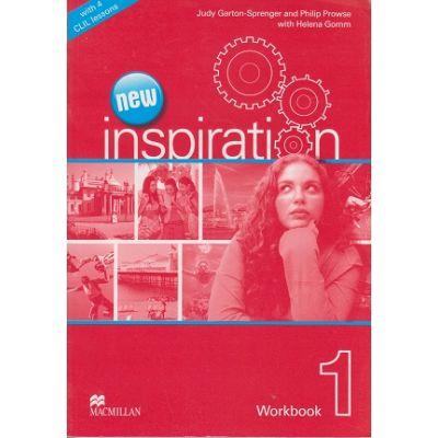 New Inspiration 1 Workbook ( Editura: Macmillan, Autor(i): Judy Garton-Sprenger, Philip Prowse, Helena Gomm ISBN 978-0-230-41254-5 )