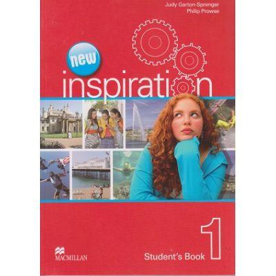 New Inspiration 1 Student's Book ( Editura: Macmillan, Autor(i): Judy Garton-Sprenger, Philip Prowse ISBN 978-0-230-40847-0 )