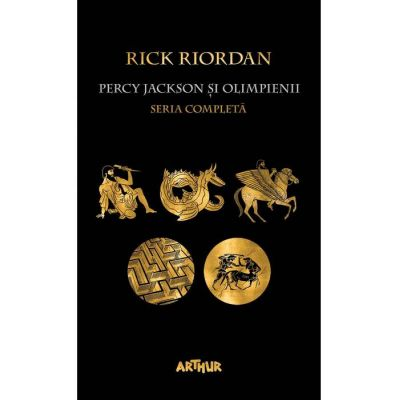 Pachet Percy Jackson și Olimpienii ( Editura: Arthur, Autor: Rick Riordan, ISBN 789-606-788-217-7 )