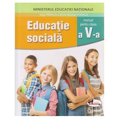 Educatie sociala manual pentru clasa a 5 a + CD ( Editura: Aramis, Autor (i): Olga Piraiala, Silviu Nicolae Paraiala ISBN 978-606-706-627-2 )
