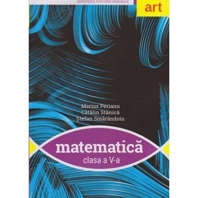 Matematica Manual pentru clasa a V-a +CD ( Editura: Art Grup editorial, Autori: Marius Perianu, Catalin Stanica, Stefan Smarandoiu ISBN 9786067104967 )
