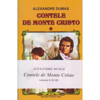 Contele de Monte Cristo 3 volume ( Editura: Cartex 2000, Autor: Alexandre Dumas, ISBN 978-973-104-550-4)