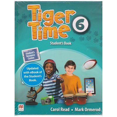 Tiger Time 6 Student's Book with eBook ( Editura: Macmillan Education, Autori: Carol Read, Mark Ormerod ISBN 978-1-78632-969-1)