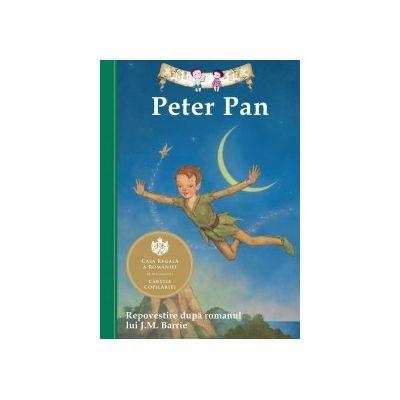 Peter Pan. Repovestire dupa romanul lui J. M. Barrie ( Editura: Curtea Veche, ISBN 978-606-588-712-1 )