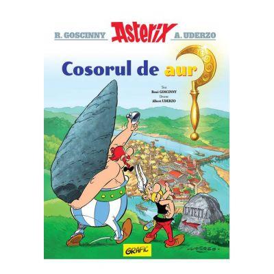 Asterix si cosorul de aur ( Editura: Arthur, Autori: R. Goscinny, A. Uderzo ISBN 9786067882551 )