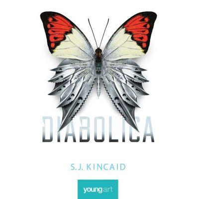 Diabolica ( Editura: Art Grup editorial, Autor: S. J. Kincaid ISBN 9786068811505)