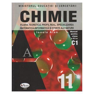 Chimie Manual pentru clasa a XI a Alan ( Editura: Aramis, Autor: Ionela Alan ISBN 9789736791871 )
