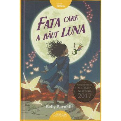 Fata care a baut Luna ( Editura: Arthur, Autor: Kelly Barnhill ISBN 9786067883381)