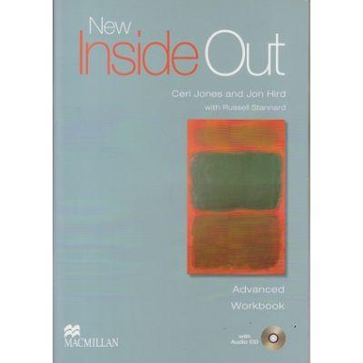 New Inside Out Advanced Workbook with Audio CD ( Editura: Macmillan, Autori: Ceri Jones, Jon Hird ISBN 978-0-230-00928-8 )