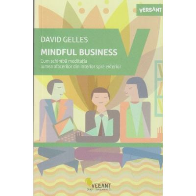 Mindful Business (Editura: Vellant, Autor: David Gelles ISBN 9786069800317 )