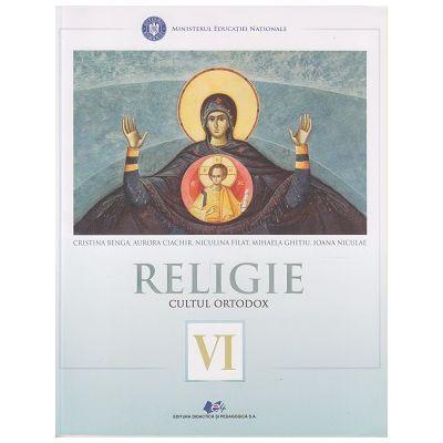 Religie Cultul Ortodox, Manual pentru clasa a VI a (Benga)(Editura: Didactica si Pedagogica, Autor(i): Cristina Benga, Aurora Ciachir, Niculina Filat, Mihaela Ghitiu, Ioana Niculae ISBN 978-606-31-0612-5 )