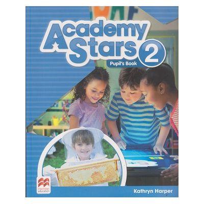 Academy Stars 2 Pupil's Book ( Editura: Macmillan, Autor: Kathryn Harper ISBN 9780230489912 )