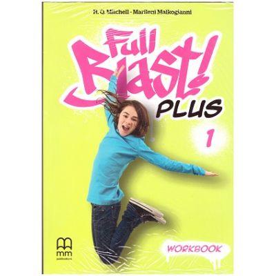 Full Blast Plus 1- Workbook ( Editura: MM Publications, Autori: H. Q. Mitchell, Marileni Malkogianni ISBN 978-618-05-2133-7 )