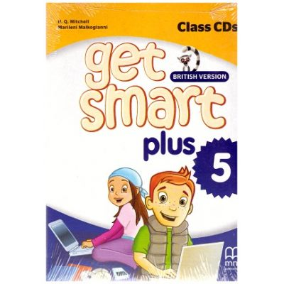 Get Smart Plus 5 British Version. Class CDs ( editura: MM Publications, autori: H. Q. Mitchell, Marileni Malkogianni ISBN 978-618-05-2256-3)